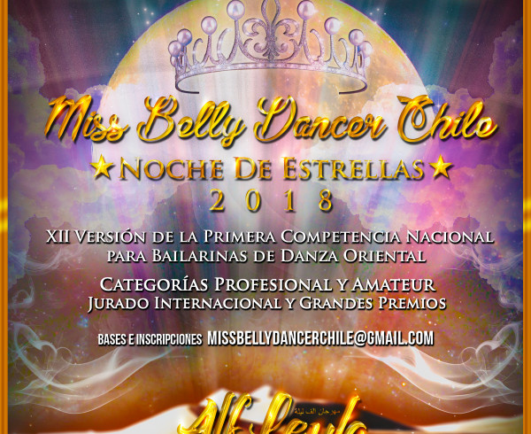 Miss Belly Dancer Chile 2018