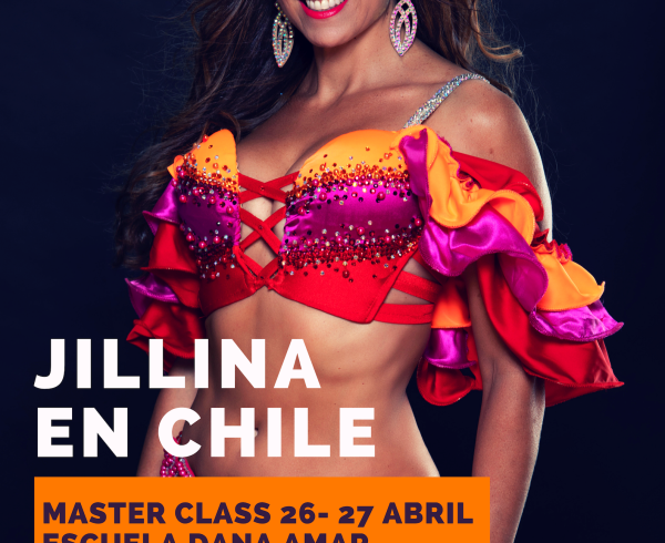 jillina en chile 26 y 27 de Abril 2019